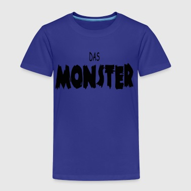 Das Monster - Kinder Premium T-Shirt