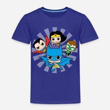 DC Comics Originals  Chibis - Premium-T-shirt barn