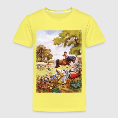 PonyTournament Thelwell Cartoon - Kids' Premium T-Shirt