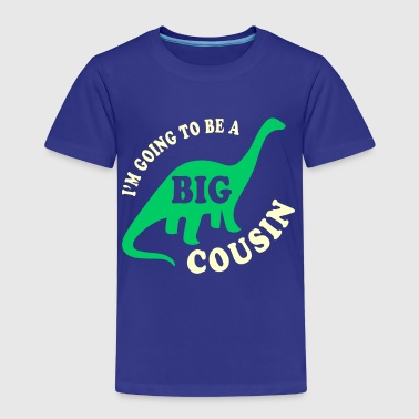 Cousine Big Cousin To Be - Kinder Premium T-Shirt