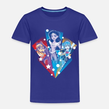 Batgirl DC Super Hero Girls Batgirl Wonder Woman Supergirl - Premium-T-shirt barn