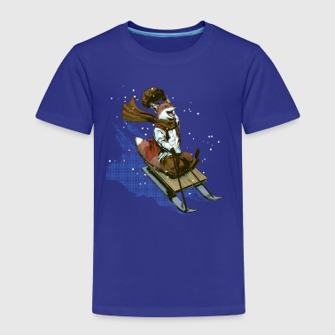 Urchin sledge fox - Kids' Premium T-Shirt