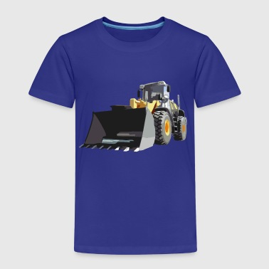 wheel loader - Kinderen Premium T-shirt