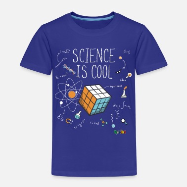Geek Rubik's Cube Science Cool - T-shirt Premium Enfant