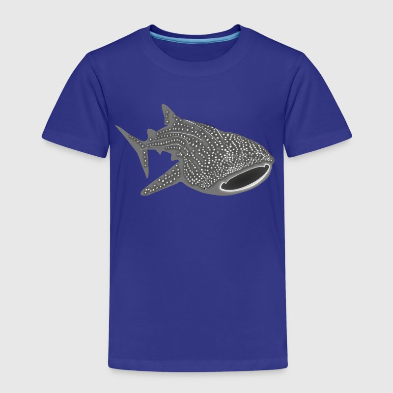 whale shark fish dive diver diving endangered species - Kids' Premium T-Shirt
