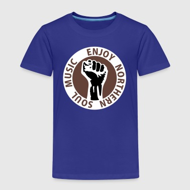 3 colors - Enjoy Northern Soul Music - nighter keep the faith - Kinder Premium T-Shirt