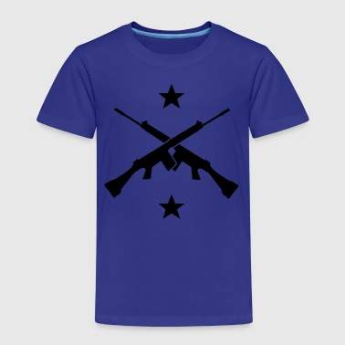 Axes and stars Shirts - Kinderen Premium T-shirt