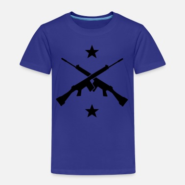 Airborne Axes and stars Shirts - Kinderen Premium T-shirt