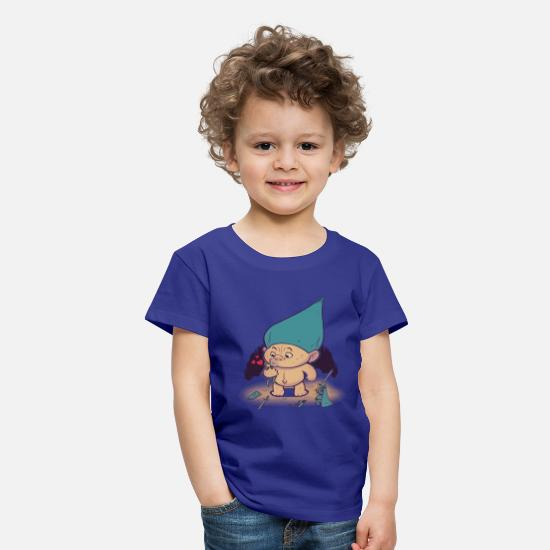 First Day Of School T-Shirts - Troll Hug - Kids' Premium T-Shirt royal blue