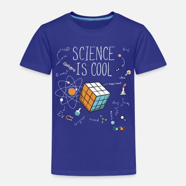 Rubiks Cube Kids Rubik's Cube Science Is Cool - Kids' Premium T-Shirt