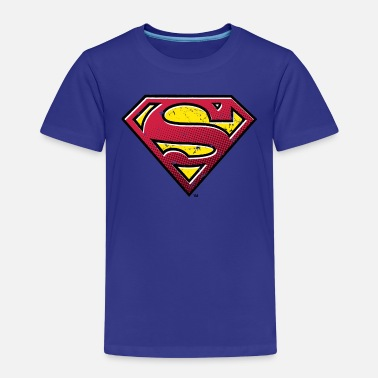Superman Superman S-Shield Used Look 2 teenager's T-shirt - Premium T-shirt til børn