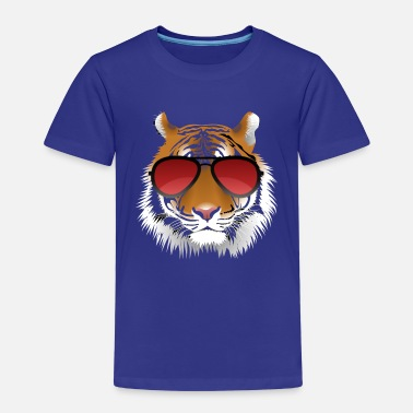 Tiger Cool tiger with sunglasses - Kids' Premium T-Shirt
