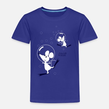 Mademoiselle Deluxe Dancing Mouses - Kids' Premium T-Shirt