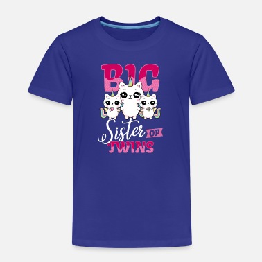 Twin Sisters Big sister of twins big sister of twins - Kids' Premium T-Shirt