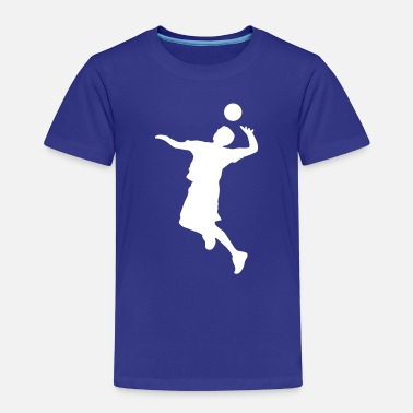 Volley Volley Sillhouette - Kids' Premium T-Shirt