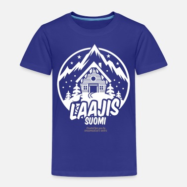 Ski Resort laajis suomi ski resort - Kinder Premium T-Shirt
