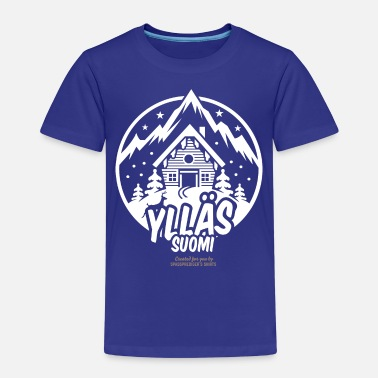 Ski Resort Ylläs Suomi Ski Resort - Kinder Premium T-Shirt