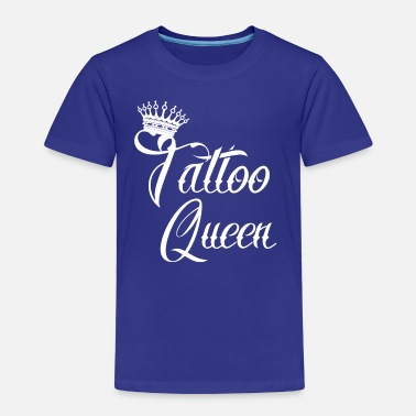 geschenk queen needle tattoo - Kinder Premium T-Shirt