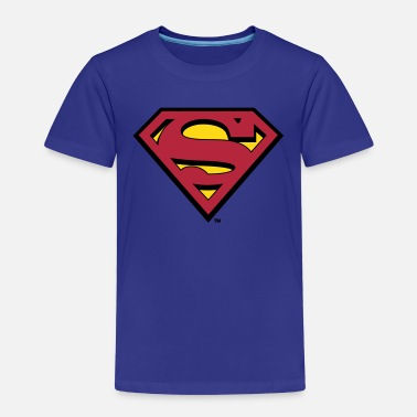 Superman Superman S-Shield logo - Premium T-shirt til børn