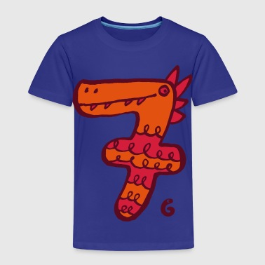 Monster sieben - Kinder Premium T-Shirt