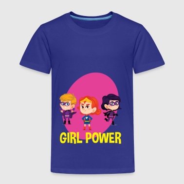 Girl Power Great Feminist - Maglietta Premium per bambini