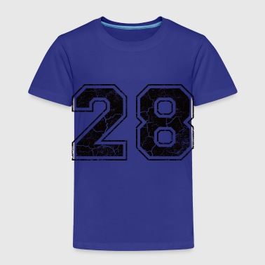 Number 28 in the used look - Kids' Premium T-Shirt