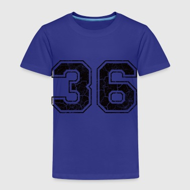 Number 36 in the used look - Kids' Premium T-Shirt