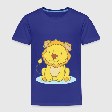 Lila The Lion - Premium-T-shirt barn
