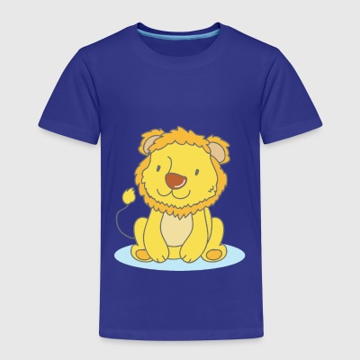 Lila The Lion - T-shirt Premium Enfant