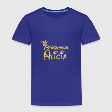 PRINCESS PRINCESS QUEEN GIFT Alicia - Kinderen Premium T-shirt