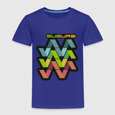 SUBURB HORIZONTAL - Kids' Premium T-Shirt
