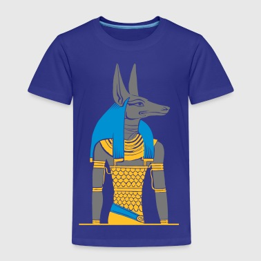 The ancient Egyptian god Anubis - Kids' Premium T-Shirt