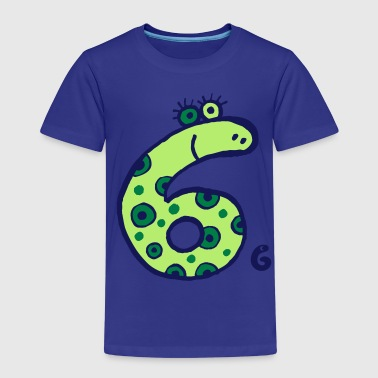 monster sechs - Kinder Premium T-Shirt