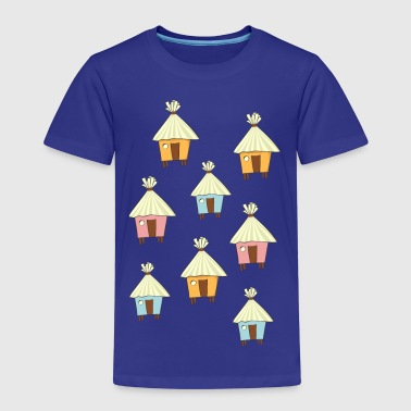 beach hut - Kids' Premium T-Shirt
