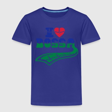 I love Bossa pulse tattoo - Kids' Premium T-Shirt