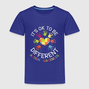 It's ok to be different - Autism Awareness - Kids' Premium T-Shirt