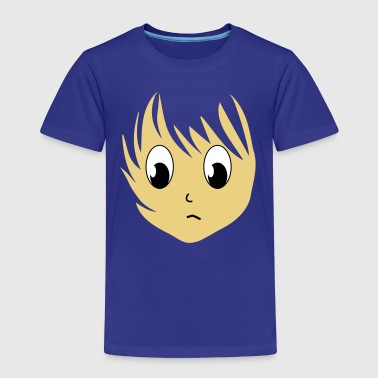 Anime Girlie Manga Girl Girl 3c - Kids' Premium T-Shirt