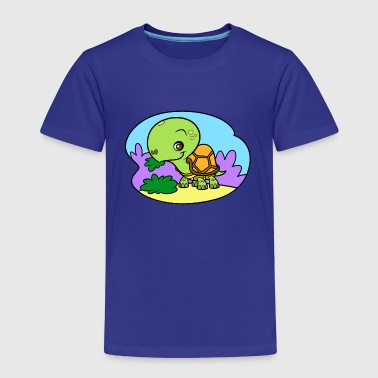 Tiny Turtle - Kinder Premium T-Shirt
