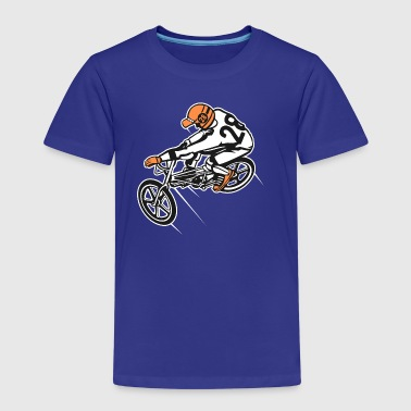 BMX Bicycle / Bike 01_Three-colored - Kids' Premium T-Shirt