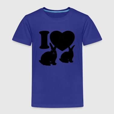 I love rabbits - Kids' Premium T-Shirt