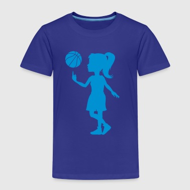 Basketball Girl  - Kinder Premium T-Shirt
