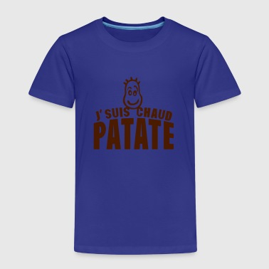 je suis chaud patate citation expression - T-shirt Premium Enfant