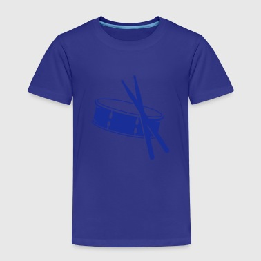 A drum and sticks - Kids' Premium T-Shirt