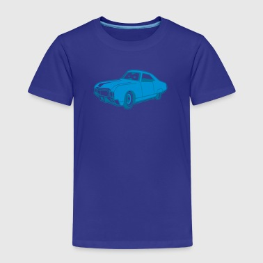Cars for Kids funky Lowrider - Kinder Premium T-Shirt
