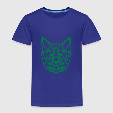 chat tribal tete 17093 - T-shirt Premium Enfant