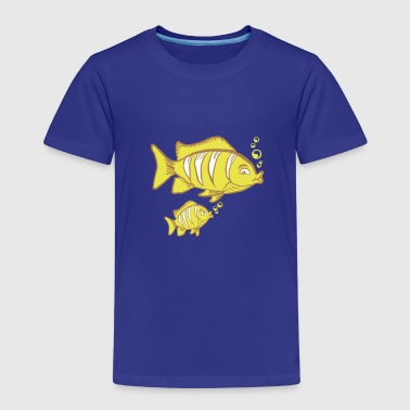 Fish Family - Kinder Premium T-Shirt