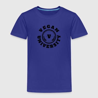 Vegan University - T-shirt Premium Enfant