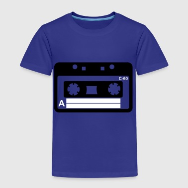 Kassette, Tape, Retro Tape - Kids' Premium T-Shirt