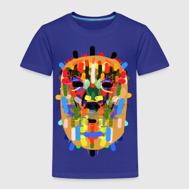 Mayan mask - Kids' Premium T-Shirt