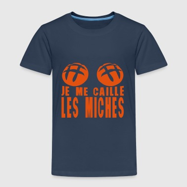 je me caille les miches citation - T-shirt Premium Enfant